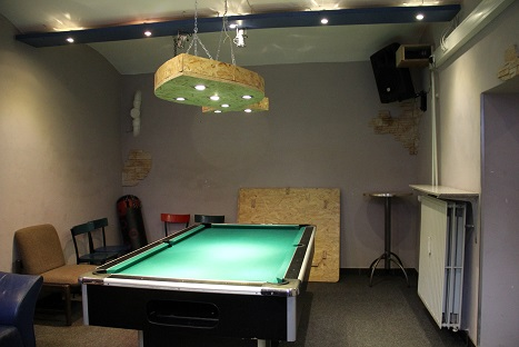 downstairs billiard